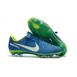 Zapatos de Futbol Neymar Nike Mercurial Vapor XI FG - Azul
