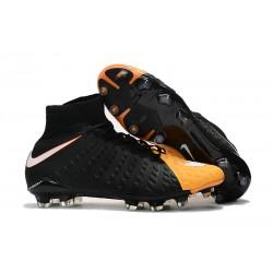 Nike Hypervenom Phantom 3 Dynamic Fit FG ACC Zapatos - Negro Amarillo