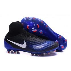 Nike Magista Obra 2 FG ACC Zapatos de Futbol - Negro Azul