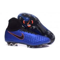 Nike Tacos Para Futbol Magista Obra II FG - Azul Negro