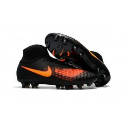 Nike Magista Obra II FG Zapatillas De Futbol - Negro Naranja