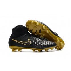 Botas de fútbol Nike Magista Obra II FG Hombres - Negro Oro