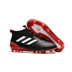 adidas Botas de Futbol Ace 17+ Purecontrol Fg - Negro Blanco