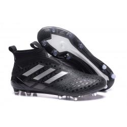 adidas Botas de Futbol Ace 17+ Purecontrol Fg - Negro Plata