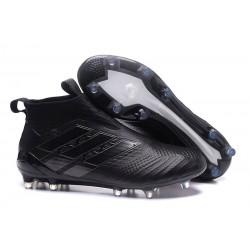 adidas Ace 17+ Purecontrol FG Nuevos Zapatillas de Fútbol - Negro
