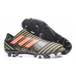 Zapatos de Adidas Nemeziz Messi 17+ 360 Agility FG - Negro Naranja