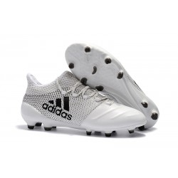 Botas de Futbol Adidas X 17.1 FG - Blanco Negro