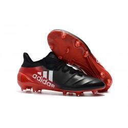 Botas de Futbol Adidas X 17.1 FG - Negro Rosso