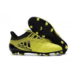 Botas de Futbol Adidas X 17.1 FG - Amarillo Negro