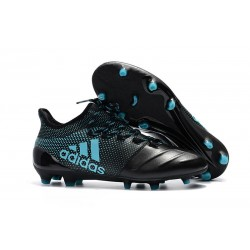 Adidas X 17.1 FG Nuevas Zapatos de Futbol Negro Azul