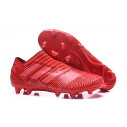 Zapatos de Adidas Nemeziz Messi 17+ 360 Agility FG - Rojo