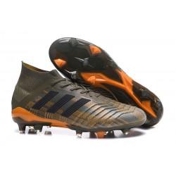 adidas Tacos de Futbol Predator 18.1 Fg - Verde Naranja Negro