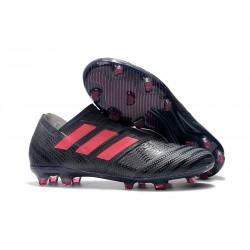 Zapatos de Adidas Nemeziz Messi 17+ 360 Agility FG - Negro Rosa