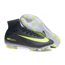 Nike Mercurial Superfly V Dynamic Fit FG Zapatillas - Negro Verde