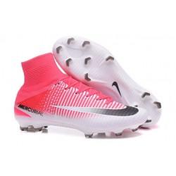 Nike Botas de fútbol Mercurial Superfly V Tacos FG -Rojo Blanco