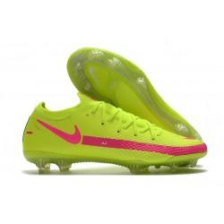 Zapatos de Fútbol Nike Phantom GT Elite FG - Verde Rosa