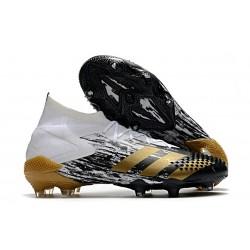Zapatos adidas Predator Mutator 20.1 FG Blanco Dorado metalizado Negro