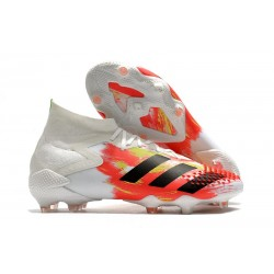 Zapatos de Futbol adidas Predator Mutator 20.1 FG Blanco Negro Pop