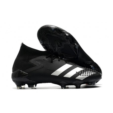 Zapatos de Futbol adidas Predator Mutator 20.1 FG Negro Plata