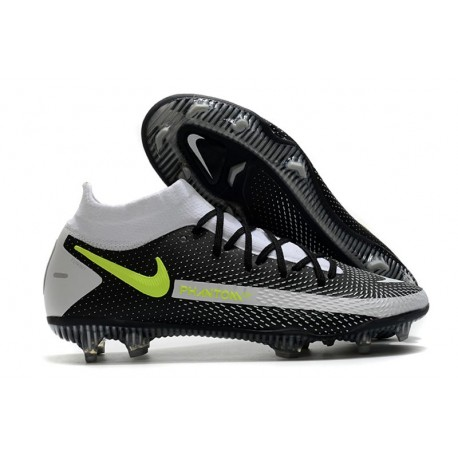 Bota Nike Phantom GT Elite Dynamic Fit DF FG Negro Gris