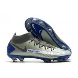 Nike Phantom Generative Texture GT Elite DF FG Gris Azul