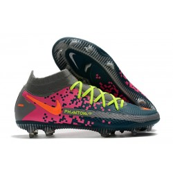 Bota Nike Phantom GT Elite Dynamic Fit DF FG Armada Gris Rosa