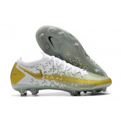 Nike Zapatillas Phantom GT Elite FG Blanco Oro