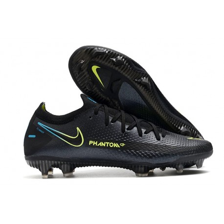 Nike Zapatillas Phantom GT Elite FG Negro Verde