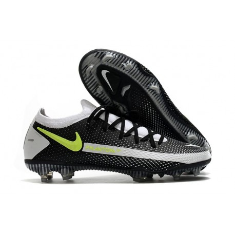Nike Zapatillas Phantom GT Elite FG Negro Gris Verde