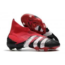 adidas Predator Mutator 20+ FG - Rosso Negro Blanco