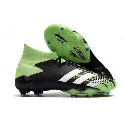 Zapatos de Futbol adidas Predator Mutator 20.1 FG Verde señal Blanco Negro