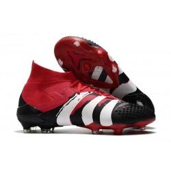 Zapatos de Futbol adidas Predator Mutator 20.1 FG Negro Rojo Blanco