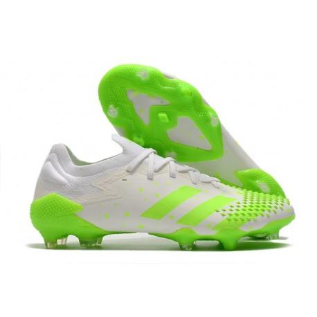 adidas Botas Predator Mutator 20.1 Low FG Blanco Verde