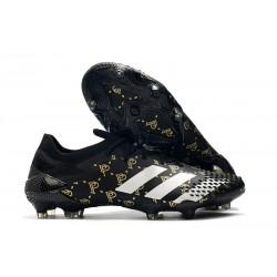 adidas Botas Predator Mutator 20.1 Low FG Paul Pogba Negro Gris