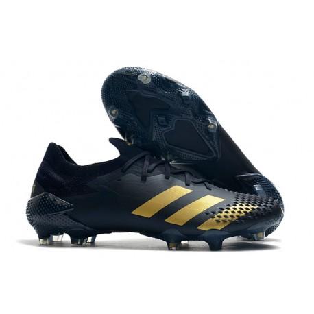 Zapatillas de Fútbol adidas Predator Mutator 20.1 Low FG Negro Oro