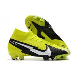 Bota Nike Mercurial Superfly VII Elite DF FG Amarillo Negro Blanco