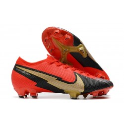 Nike Mercurial Vapor XIII 360 Elite FG Rojo Negro Oro