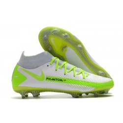 Bota Nike Phantom GT Elite Dynamic Fit DF FG Blanco Verde