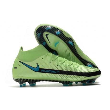 Bota Nike Phantom GT Elite Dynamic Fit DF FG Verde Negro