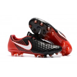 Bota de Futbol Nike Magista Opus 2 FG ACC -Negro Rojo