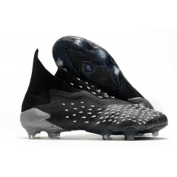 Botas de fútbol adidas PREDATOR FREAK + FG Negro Gris Blanco