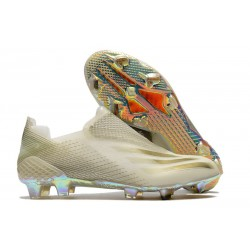 adidas X Ghosted + FG Botas Blanco Oro