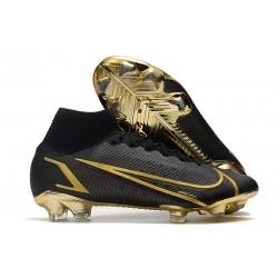 Nike Botas Mercurial Superfly VIII Elite FG Negro Oro