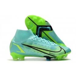Zapatos Nike Mercurial Superfly 8 Elite FG IMPULSE PACK Turquesa Lima
