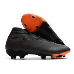Zapatillas de Fútbol Adidas Nemeziz 19+ FG - Negro