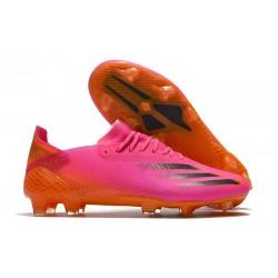 Zapatos adidas X Ghosted.1 FG Rosa Negro Naranja