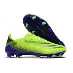 Zapatos adidas X Ghosted.1 FG Verde Tinta Energía