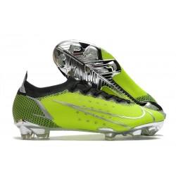 Nike Mercurial Vapor 14 Elite FG Verde Negro Plata