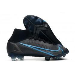 Zapatos Nike Mercurial Superfly 8 Elite FG Negro Gris Hierro