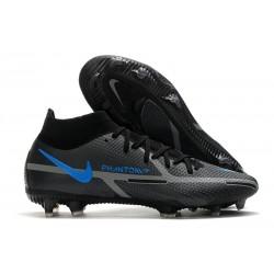 Nike Phantom Generative Texture II Elite DF FG Negro Gris Hierro